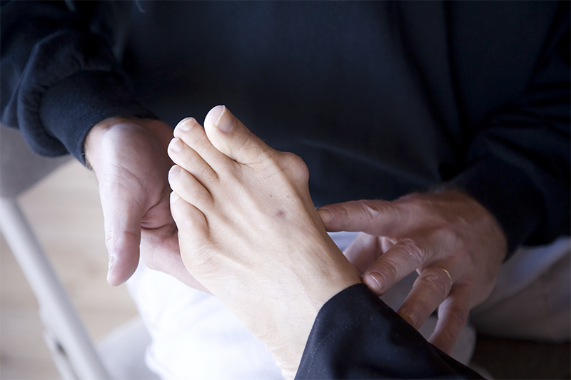 what is lump on the side of your foot